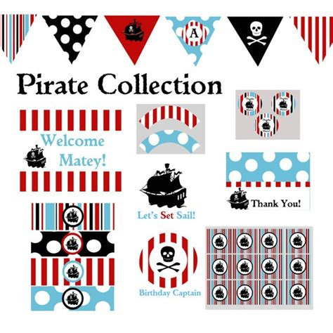 printable pirate birthday decorations 43 best images about pirate party ideas on pinterest