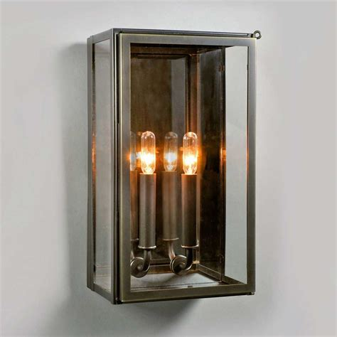 Electrical Box For Wall Sconce Electric Vic Indoor Outdoor Wall Sconce In Bronze Ue 8710 Bz