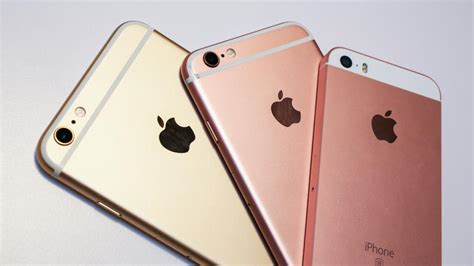 iphone se comparativa con iphone 6s y iphone 6 rwwes