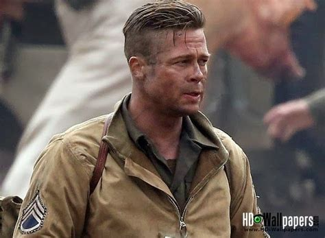 hair cuts from movie fury image for brad pitt hairstyle fury tutorial 2014 pictures