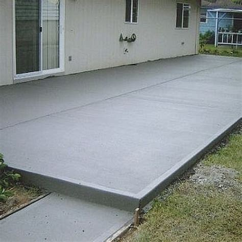 how to calculate concrete needed to pour a slab concrete patios concrete and patios