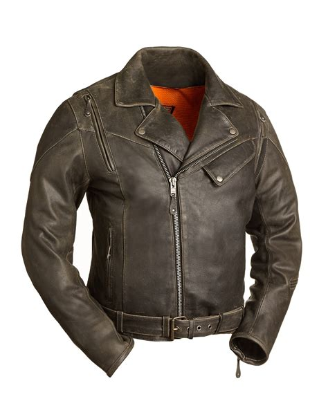 motorcycle jacket store mens anthracite leather vented motorcycle jacket