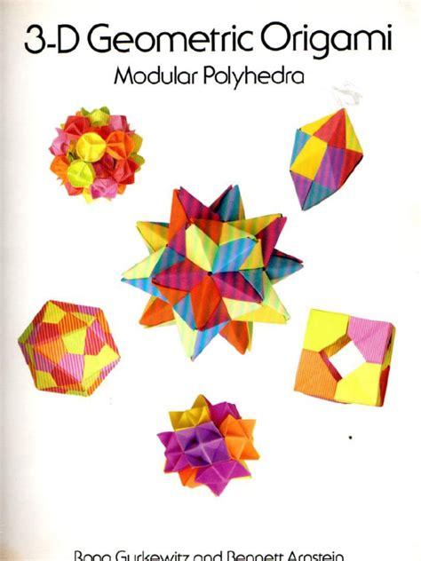 3d Geometric Origami - 3d geometric origami modular polyhedra