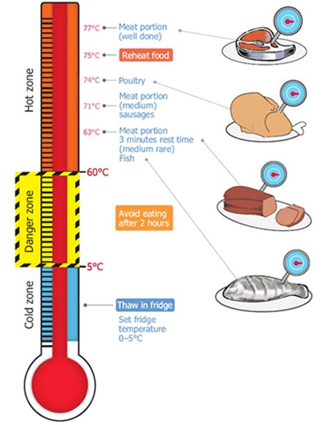 use a meat thermometer to be sure when foods are safely cooked foodborne illness pinterest
