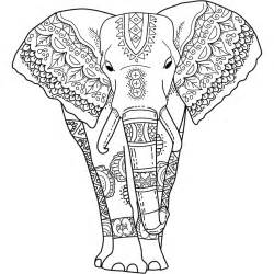 elephant ear coloring page images