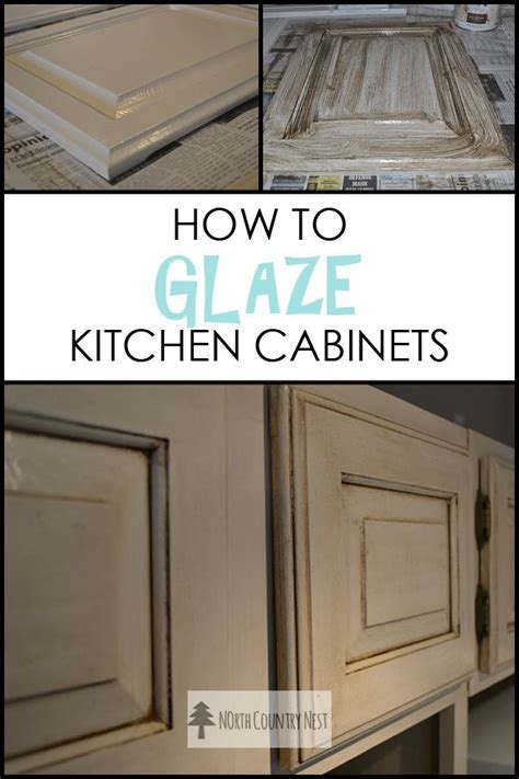 25 best ideas about glazed kitchen cabinets on