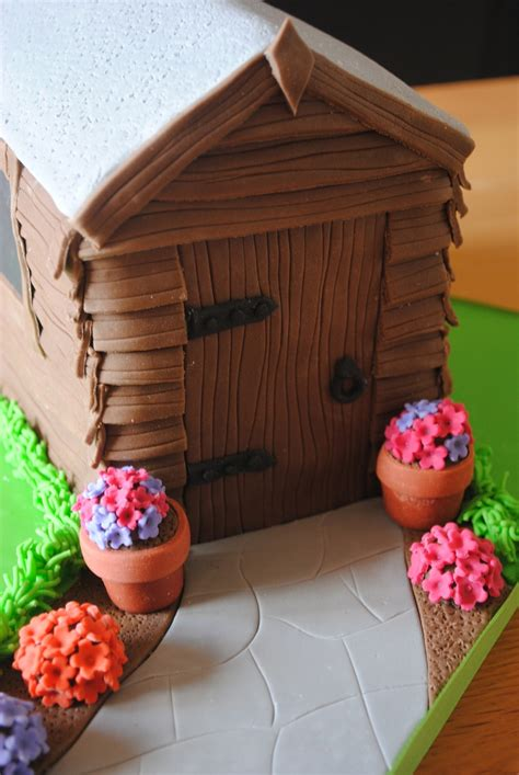 Shed Cakes by Garden Shed Cake Cakecentral