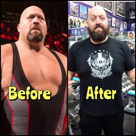 Tshirt Big Show big show loses weight during absence