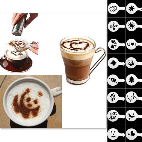 kaffee oder deko mal h 252 bsch den kaffee dekorieren mit den 16 milchschaum