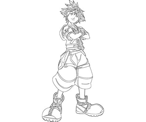 kingdom hearts coloring pages sora free coloring pages of kingdom hearts 2