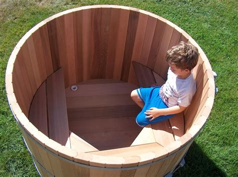 wine barrel bathtub for sale outdoor soaking tub for two people wood barrel round