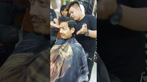 asas potongan rambut skin fade  youtube