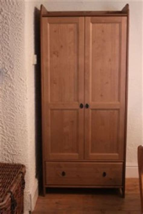 ikea solid wood wardrobe ikea leksvik wardrobe solid wood ebay