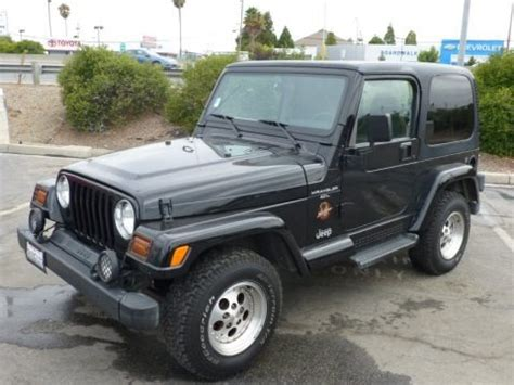 1997 Jeep Wrangler Value 1997 Jeep Wrangler 4x4 Data Info And Specs