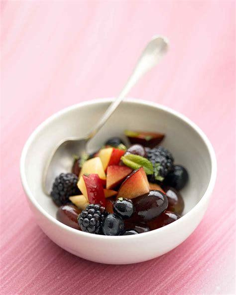 Outdoor Entertaining Recipes - fruit salad recipes martha stewart