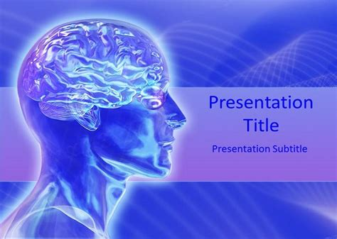 Free Human Brain Powerpoint Templates Free Powerpoint Templates Free Brain Powerpoint Templates