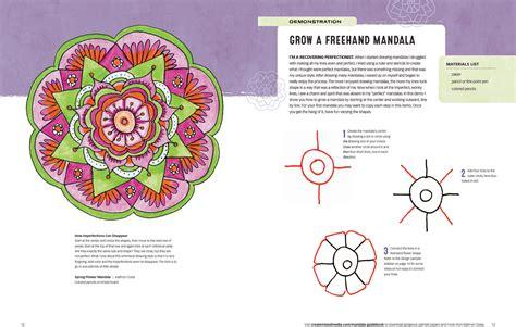 mandala guidebook   draw paint  color