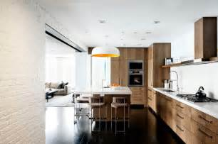 Under Kitchen Cupboard Lights - laight street loft industrial kitchen new york by dhd architecture and interior design