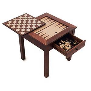 wood 3 in 1 chess backgammon table new ebay