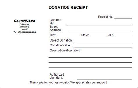 charity tax receipt template free 20 donation receipt templates in pdf docs