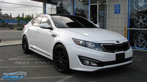 Kia Optima Wheel Size Car Kia Optima On Koko Kuture Lindos Wheels California