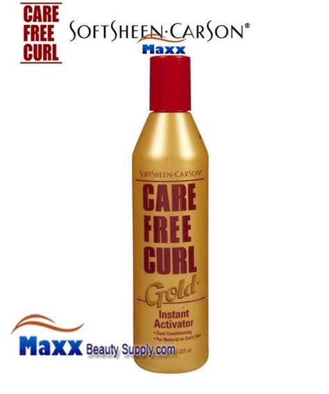care free curl activator on natural hair softsheen carson care free curl gold instant activator 8oz