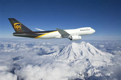 boeing and ups announce order for 14 747 8 freighters