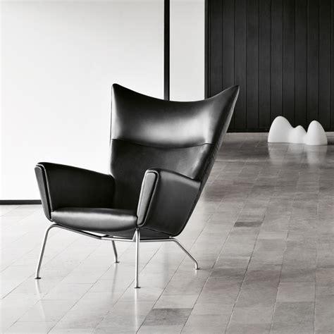 On Chair - ch445 wing chair hans j wegner carl hansen and