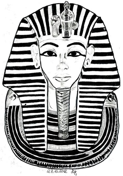 free coloring page 171 coloring egypt mask toutankhamon 187 the