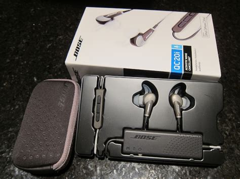 quiet comfort 20i review bose quietcomfort 20i acoustic noise cancelling