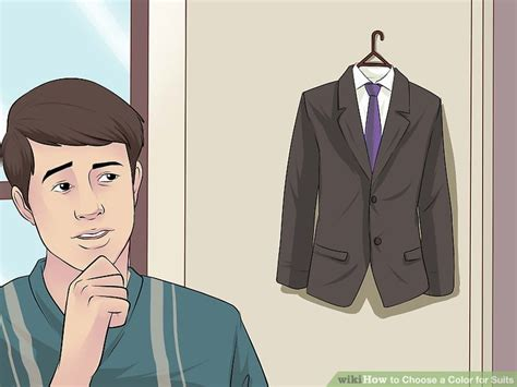 color suit 3 ways to choose a color for suits wikihow