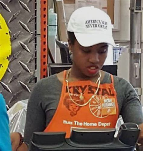 home depot worker s america was never great hat