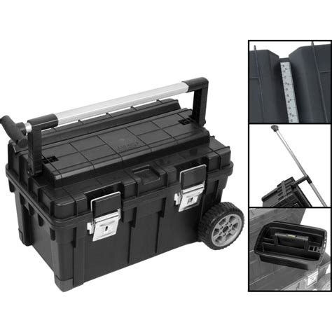 tool box on wheels uk trophy 1 wheeled toolbox 25 quot toolstation