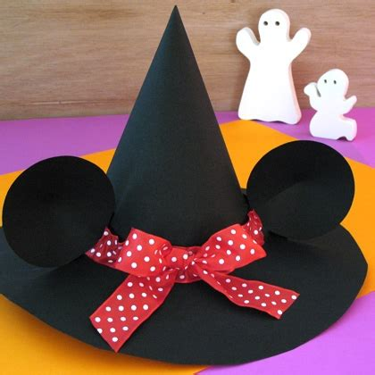 witch hat crafts for minnie s witch hat disney family