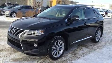 matte black lexus rx 350 new black on parchment 2015 lexus rx 350 awd touring