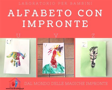 le lettere dell alfabeto italiano lettere alfabeto con impronte u v z istruzione per bambini