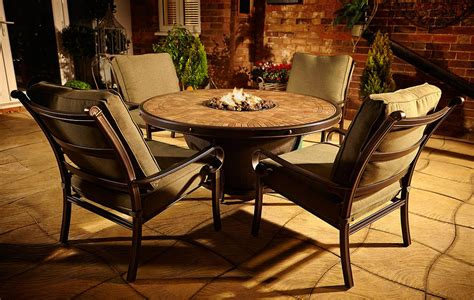 Outdoor Furniture Fire Pit Table And Chairs Modern Patio Firepit Table And Chairs