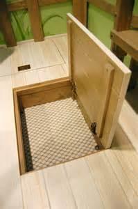 Floor Storage Trap Door Under Floor Storage Stashvault