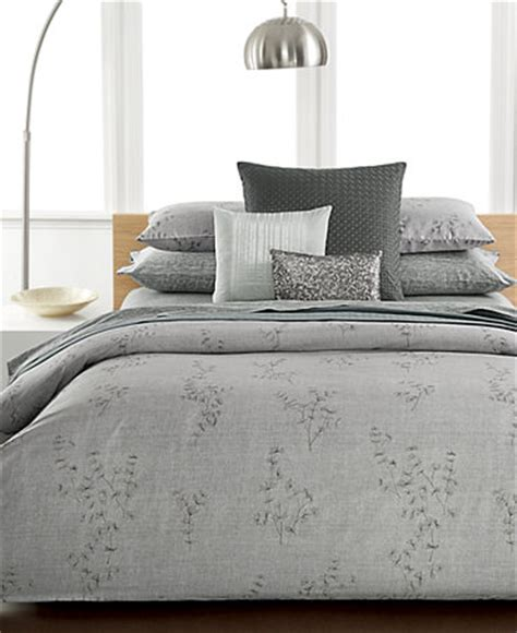 Calvin Klein Bedding Sets Calvin Klein Acacia Bedding Collection Bedding Collections Bed Bath Macy S