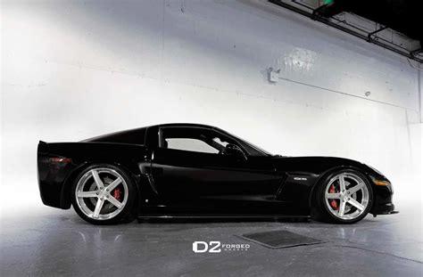 corvette c6 wheels black c6 corvette z06 gets upgraded with d2forged cv2