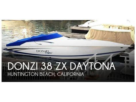 donzi boat second hand donzi 38 zx daytona in florida open boats used 85499