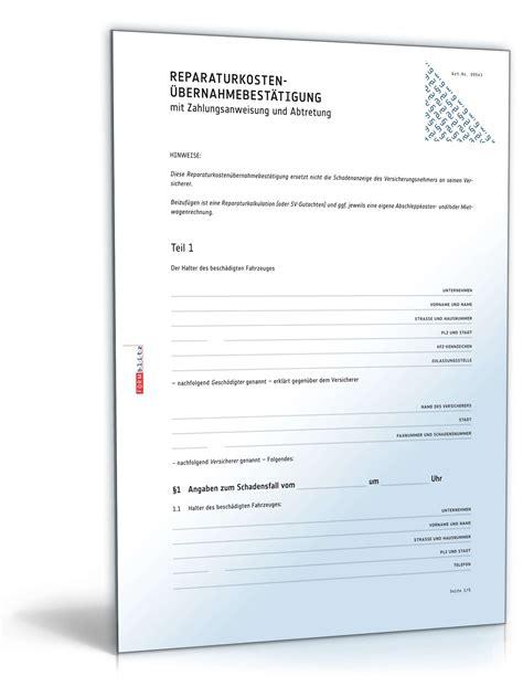 Muster Kündigung Berlin Direkt Versicherung Reparaturkosten 220 Bernahmebest 228 Tigung Vorlage Zum