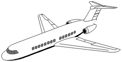 Airplane Coloring Pages Koloringpages Plane Colouring Pages