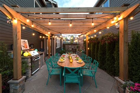String Lights Pergola Lighting Ideas Pictures Pergola String Lights