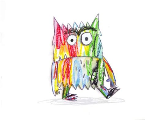 libro the colour monster el monstruo de colores