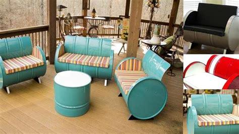 Kursi Pangkas Bekas Di Medan tong bekas disihir jadi kursi cantik tribunnews