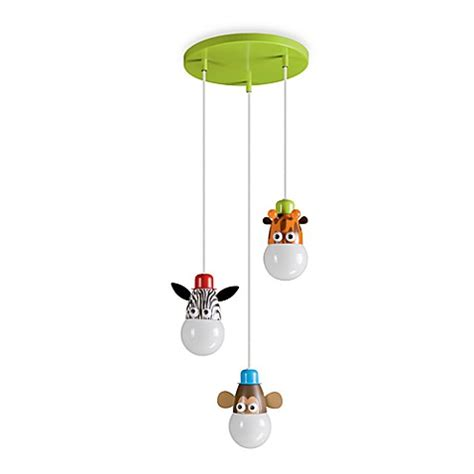 Animal Ceiling Light Buy Kidsplace 3 Light Zoo Animals Ceiling L From Bed Bath Beyond