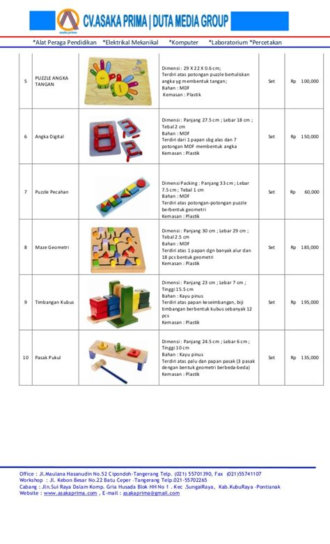 Puzzle Huruf Abjad Kayu Mdf cari alat peraga edukatif 2015 rincian harga alat