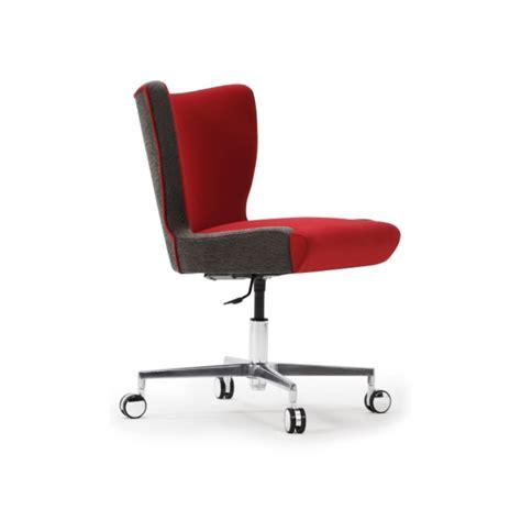 armless armchair jenny upright armless desk chair with cruciform base