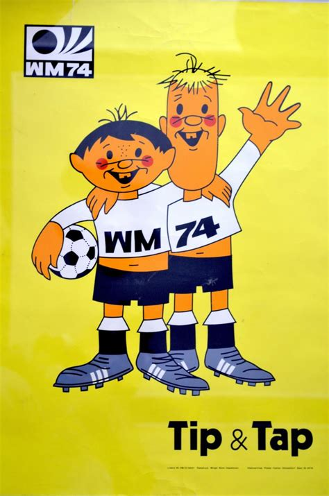 tip tap went the tip tap world cup 1974 poster by horst sch 228 fer for